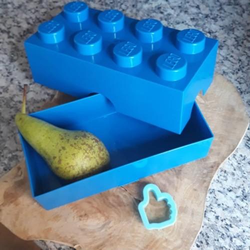 LEGO Lunchbox blauw