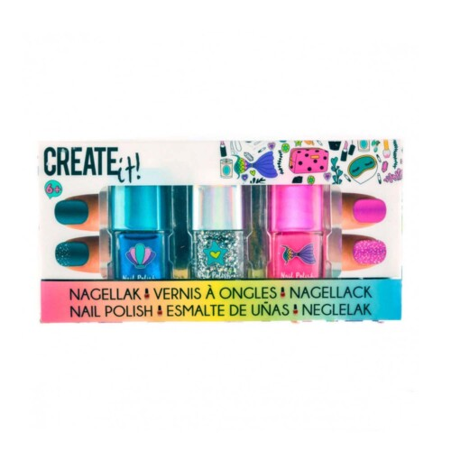Create It! Zeemeermin Nagellak