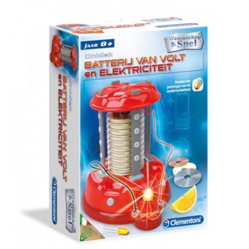 De Batterij Van Volt en Elektriciteit - Clementoni