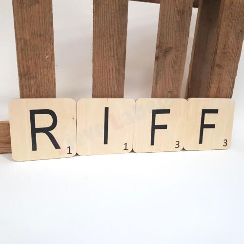 Scrabble letters XL