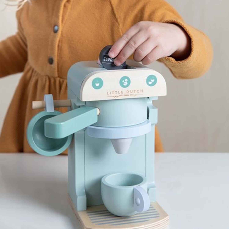 Little Dutch houten koffiezetapparaat