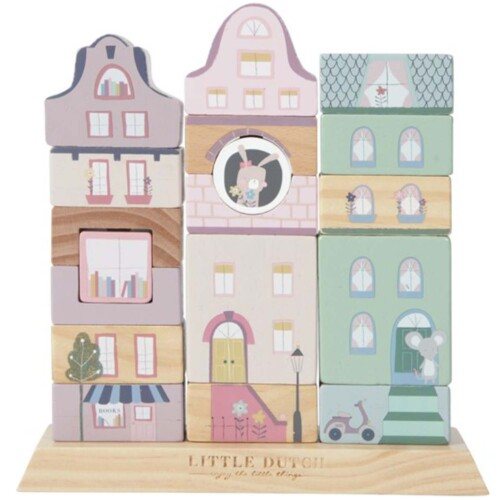 Little Dutch Stapelgeveltjes Adventure Pink