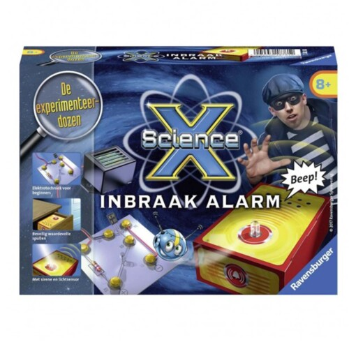 Ravensburger ScienceX® Inbraak Alarm