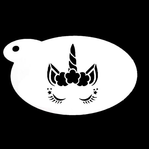 Schmink sjabloon - Eenhoorn 3